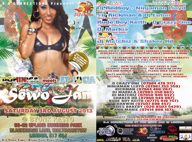 Dominica meet St Lucia Sewo Jam Edited